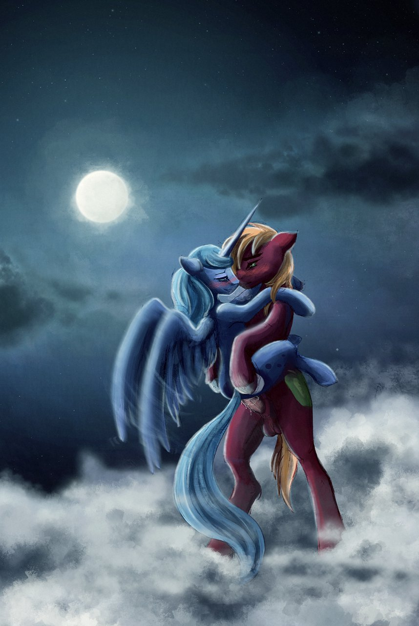 my pony dancer moon little Featuring dante from the devil may cry series and knuckles