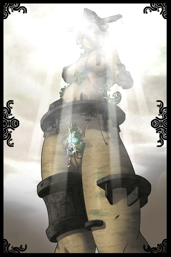 of the pelagia shadow colossus Diane 7 deadly sins nude