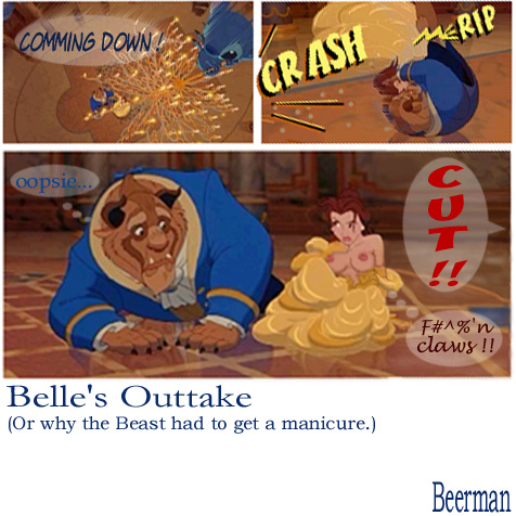 belle and the beauty beast No harm no fowl sefeiren