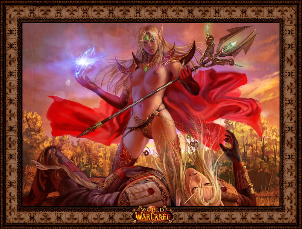 death female blood knight elf Slay the spire the ironclad