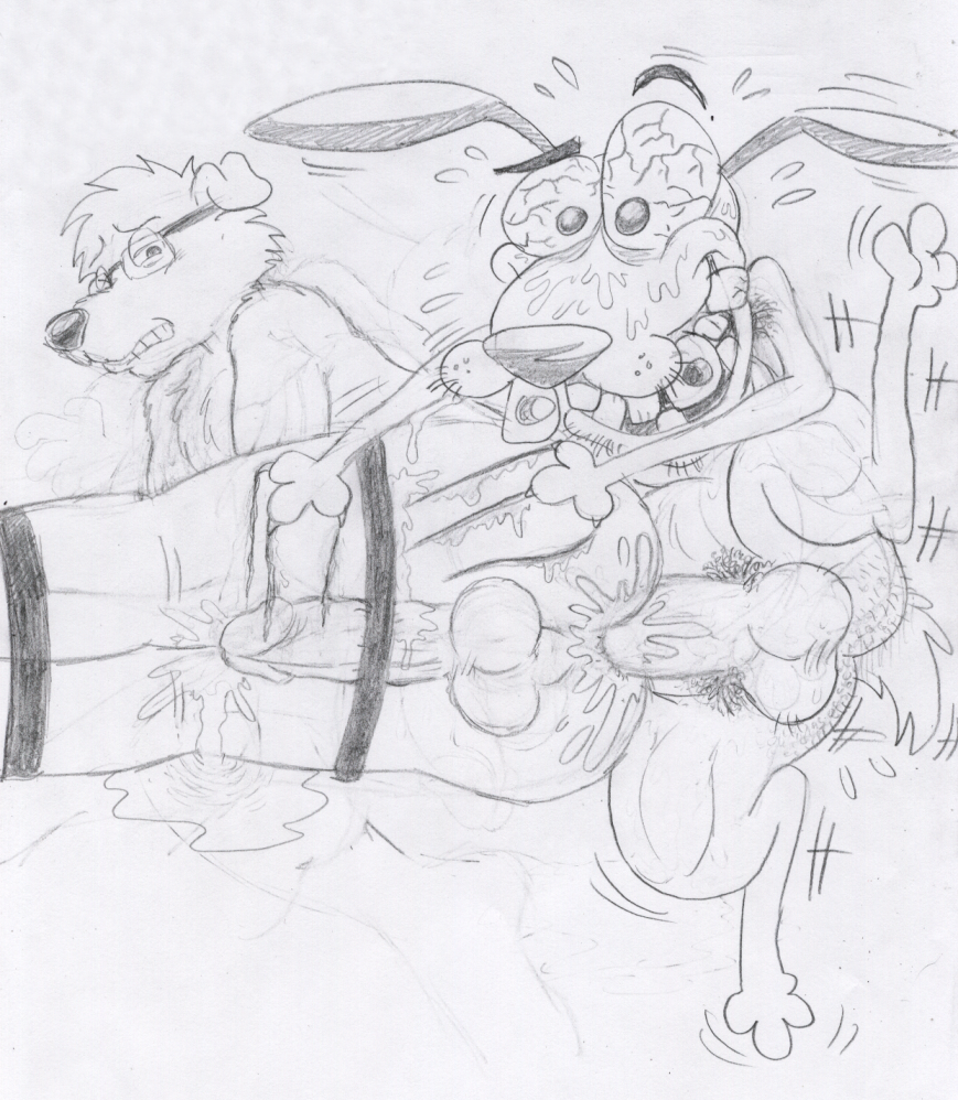 cowardly dog courage the mad dog My time in portia ginger