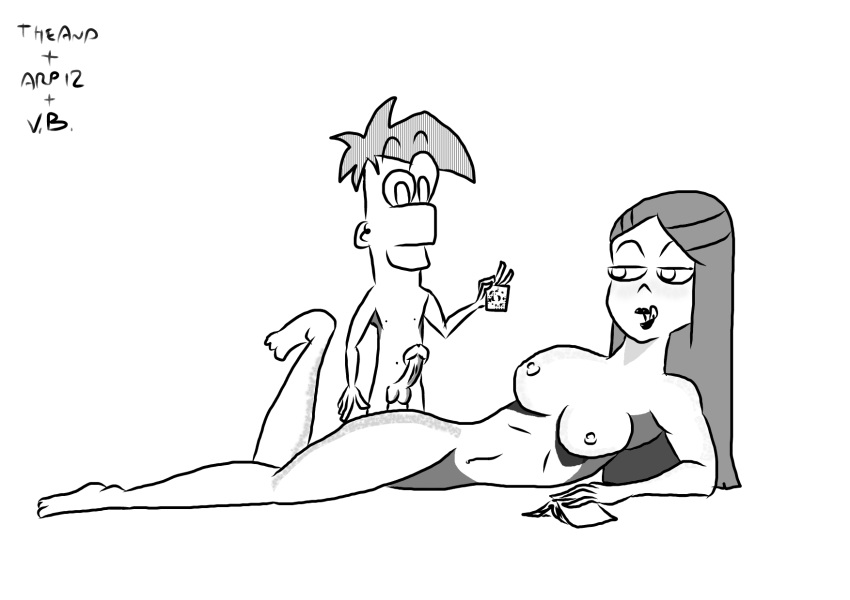 nude ferb phineas mom and D&d orc woman