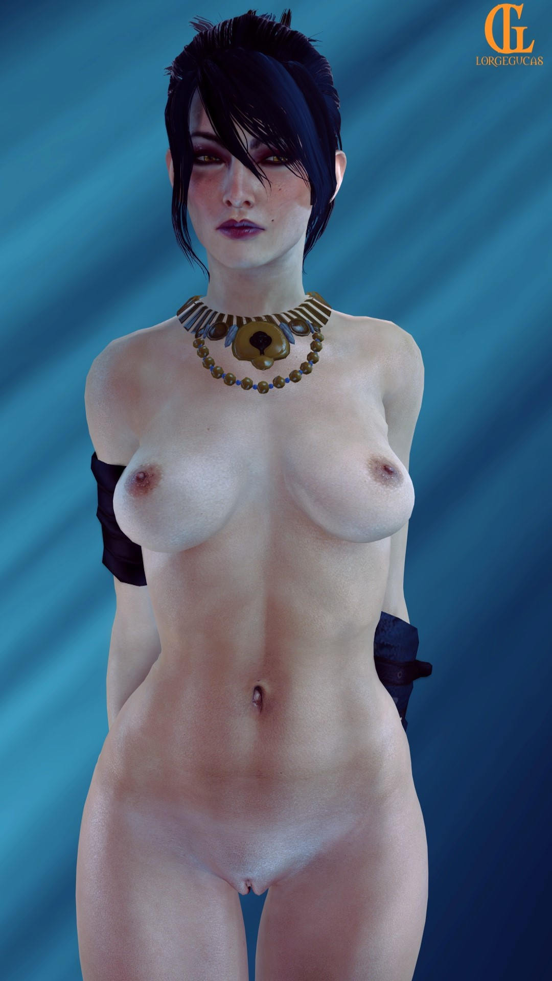 morrigan dragon inquisition age in is Fallout new vegas nude sex